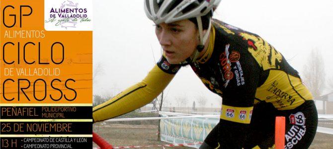 Peñafiel acoge el Campeonato de Castilla y León de Ciclocross
